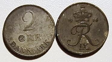 2 øre zink 1948 – 72