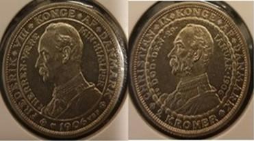 2 Krone sølv 1906 Erindringsmønt
