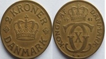 2 Krone Alum. bronze 1941