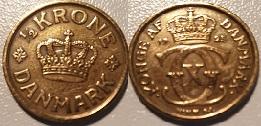 ½ Krone Alum. bronze 1925