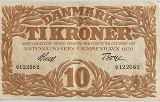 10 Krone seddel 1930